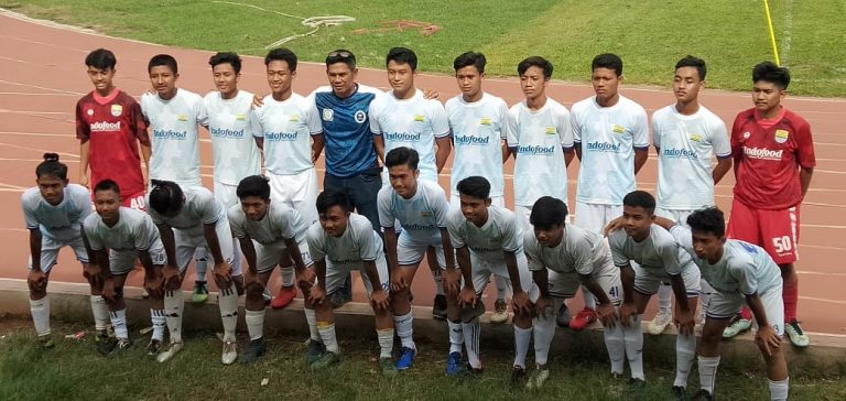 Caesar Aprilio Membawa Persib Junior U-17 Juara 1 Fossbol Junior League Elite Nasional.